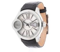 Armbanduhr 'crm043A212F' schwarz / silber