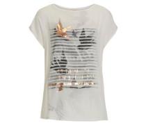 Shirt aus hochwertiger Viskose weiß