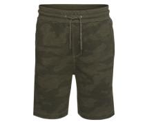 Shorts 'camou AOP Shorts' oliv