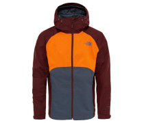 Regenjacke 'Sequence' orange / dunkelrot
