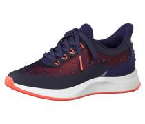 Sneaker koralle / dunkelblau