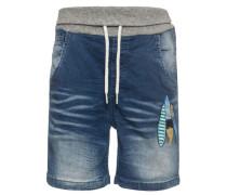 lange Jeansshorts 'nitbern' blue denim / mischfarben