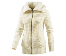 Strickjacke Damen weiß