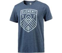 'Bern' T-Shirt Herren blau