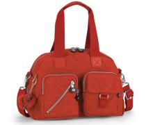 'Defea' Handtasche 33 cm orangerot
