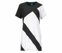 Shirtkleid 'eqt TEE Dress' schwarz / weiß
