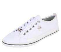 Sneaker 'classy' weiß