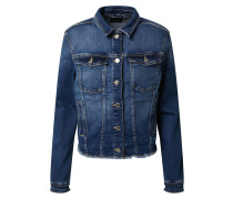Jeansjacke 'onlblush REG Jacket RAW Waist'