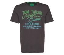 T-Shirt mit Print dunkelgrau