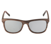 Sonnenbrille 'Justus' mit Gestell aus Holz braun