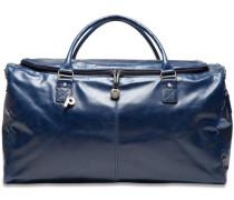 Weekend Reisetasche Leder 54 cm blau
