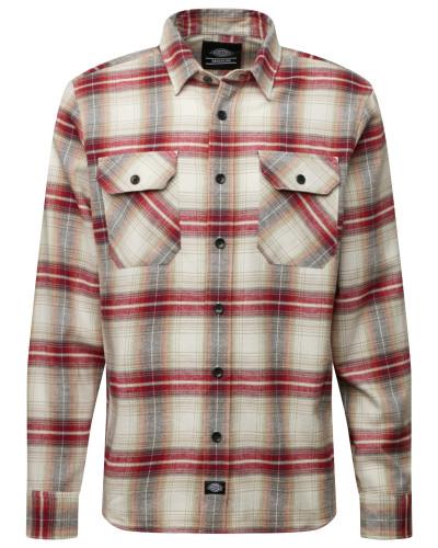 Hemden 'Canaan' braun / grau / rot