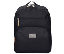 London Rucksack mit Laptopfach schwarz