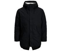 Parka-Jacke schwarz
