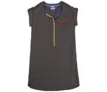 """Hilfiger Denim Kleid """"thdw Shirt Dress S/L 18"""" khaki"""