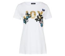 T-Shirt 'Dondolo' blau / gold / weiß