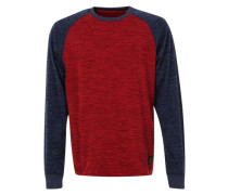 Sweatshirt 'Cruizer' blau / rot