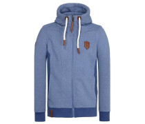 Male Zipped Jacket Birol Viii blau