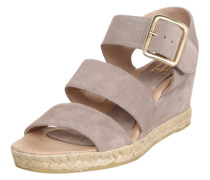 Sandale 'Wedge' beige / gold / taupe