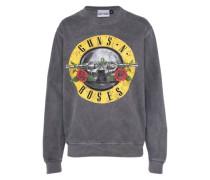 Sweatshirt 'guns AND Roses' basaltgrau