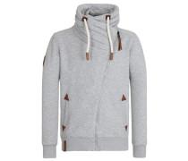 Zipped Jacket 'Jan Mopila' grau