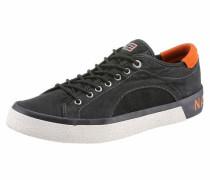 Sneaker 'Jakob' anthrazit / hellorange