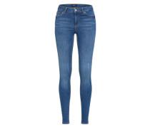 Skinny Jeans 'pcfive Delly B181' blue denim
