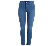 Knöchel Skinny-Jeans blau
