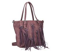 Crissy Kuba Shopper Tasche 40 cm lila