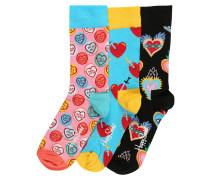 Socken 'I Love You Gift Box' mischfarben