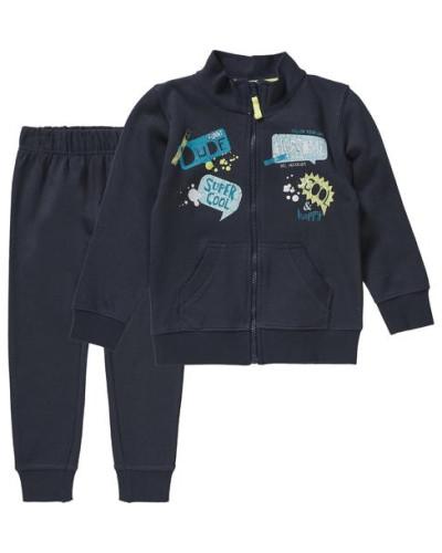 Jogginganzug für Jungen blau