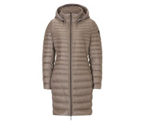 modischer Mantel braun