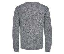 Pullover 'SH DShane' graumeliert / schwarz