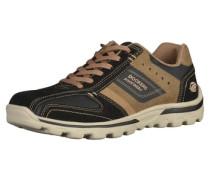 Sneaker hellbraun / schwarz
