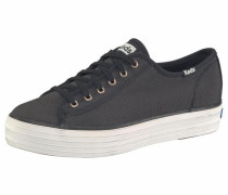 Plateausneaker 'Triple Kick Shine' schwarz