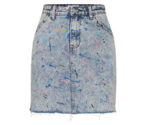 Minirock Jeans blue denim