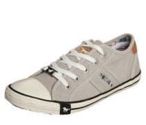 Sneaker im Canvas-Style hellgrau