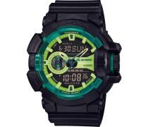 G-Shock Chronograph »Ga-400Ly-1Aer« schwarz