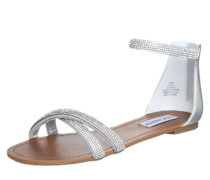 Sandalette 'Zippey' silber