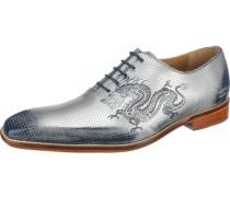 Clark 6 Business Schuhe silber