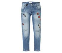 'Ex-Boyfriend - pins 80's - Jean' Tapered Jeans blau