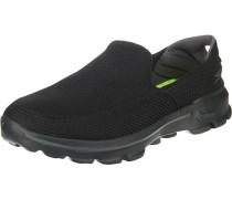 'Go Walk 3' Sneakers schwarz