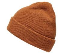Woll-Mütze karamell