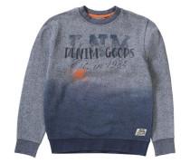 Sweatshirt für Jungen blau / grau / dunkelgrau / orange