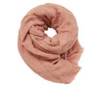 Schal aus weichem Viskose-Mix rosa