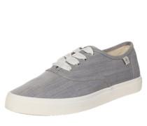 Sneaker Low taubenblau