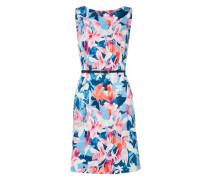Kleid dunkelblau / magenta