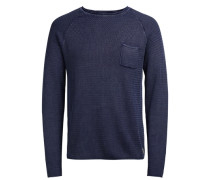 Strickpullover Robust blau