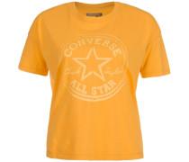 Sponge Wash CP Swing T-Shirt Damen orange