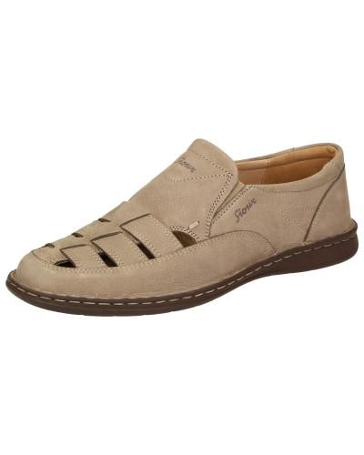 Sandale 'Elbego' hellbeige
